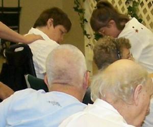 Beth has prayer