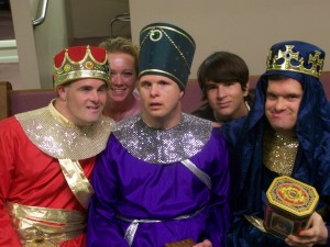 Wise men travel from East Vero