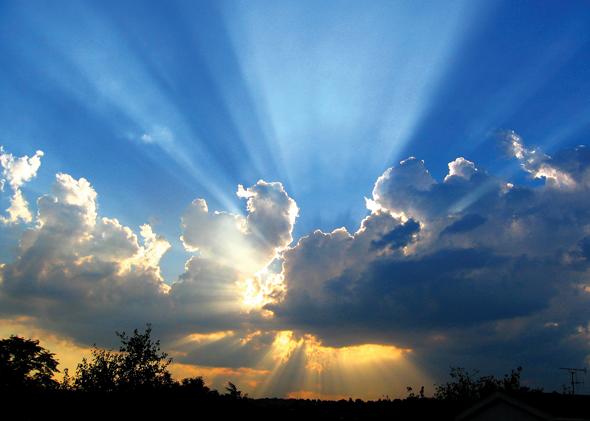 Prayer reveals God's power
