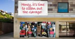 clean the garage